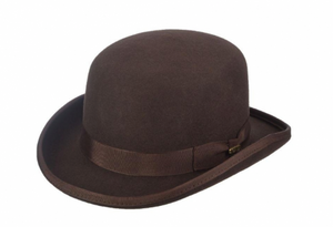 Chocolate Bowler Hat