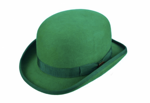 Kelly Green Bowler Hat