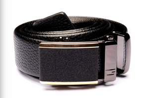 Black Belt with Black Buckle