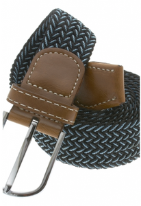 Black and Blue Stretch Belt