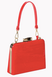 Red Mildred Handbag