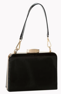 Black Mildred Handbag