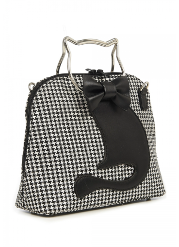 Houndstooth Dixie Bag Handbag
