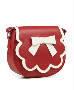 Red/White Rocco Handbag