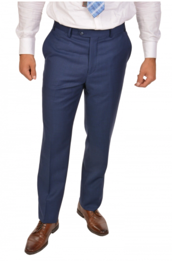 Royal Blue Sport Fit Dress Pants
