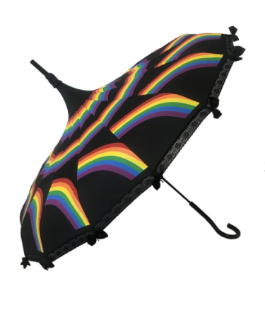 Pride Carousel Shaped Umbrella