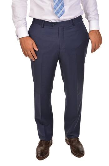 Beautiful Blue Sport Fit Dress Pants