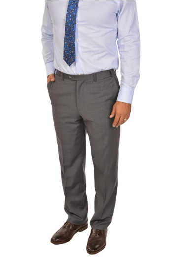 Medium Grey Sport Fit Dress Pants