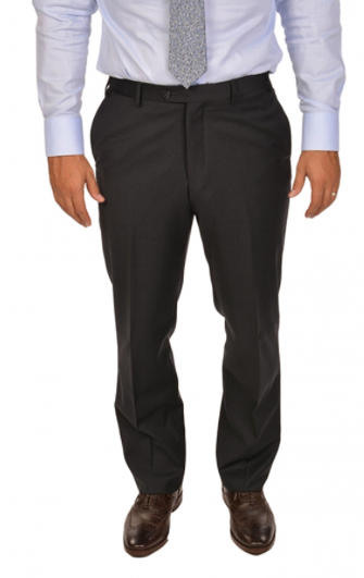 Charcoal Sport Fit Dress Pants