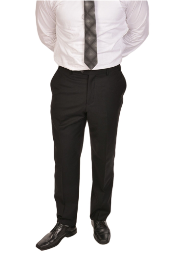 Black Sport Fit Dress Pants