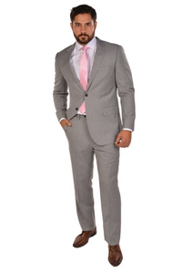 Light Grey Sport Fit Suit