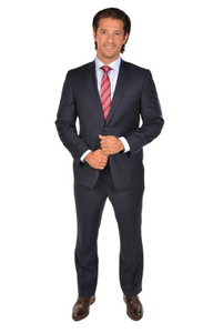 Navy Classic Fit Suit