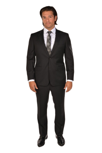 Black Classic Fit Suit