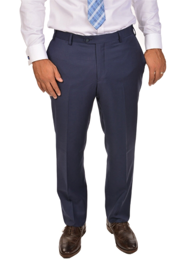 Beautiful Blue Slim Fit Dress Pants