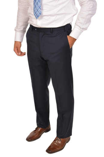 Navy Slim Fit Dress Pants