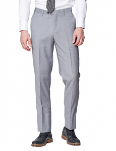 Light Grey Slim Fit Dress Pants