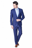 Slim Fit Beautiful Blue Suit