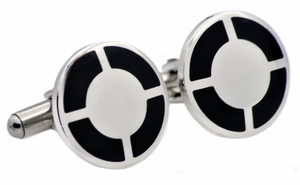 Black Plated Cufflinks