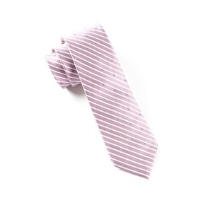 Wisteria Striped Necktie
