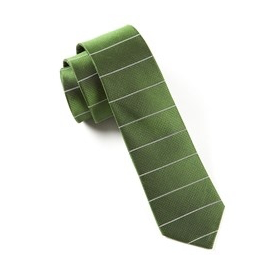 Green Institute Stripe Necktie