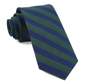 Hunter Lumber Stripe Necktie