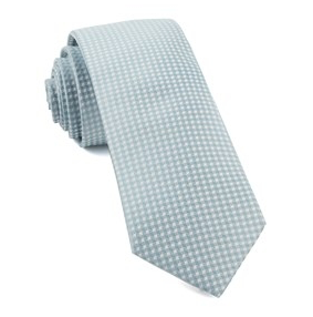 Robins Egg Be Married Checks Necktie