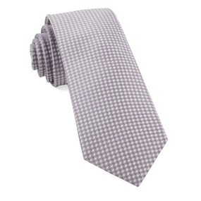 Lavender Be Married Checks Necktie