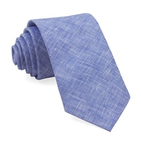 Solid Light Blue South End Necktie