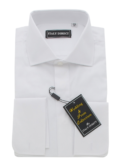 White French Cuff Classic Fit Dress Shirt