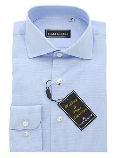 Baby Blue Classic Fit Dress Shirt