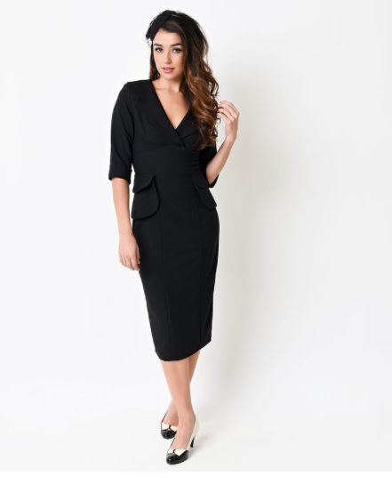 Benoit Fitted Dress by Stop Staring! (2 Color Options)