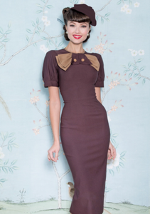 Penny Fitted Dress by Stop Staring!