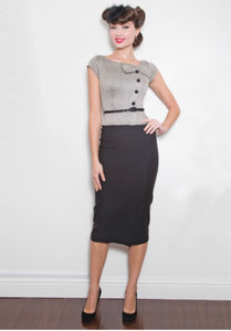 Rivka Fitted Dress by Stop Staring!
