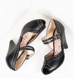 Nellie Shoes by Bettie Page (4 Color Options)