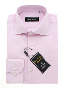 Baby Pink Sport Fit Dress Shirt
