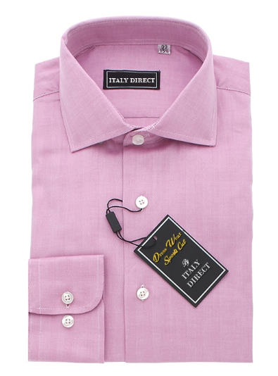 Pink Sport Fit Dress Shirt