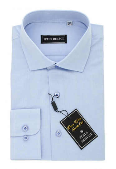 Light Blue Sport Fit Dress Shirt