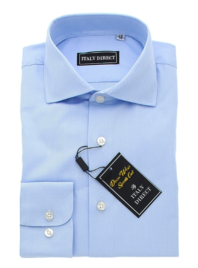 Baby Blue Sport Fit Dress Shirt