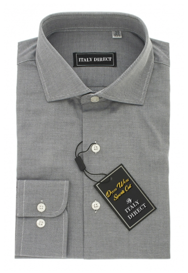 Grey Sport Fit Dress Shirt
