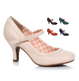Bettie Shoes by Bettie Page (5 Color Options)