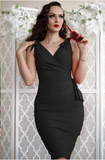 Valentina Fitted Dress by Stop Staring! (2 Color Options)