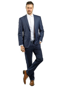 Navy Slim Fit Sport Jacket