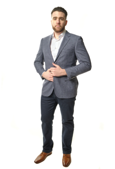 Grey Sport Fit Sport Jacket