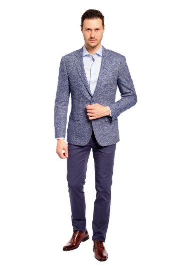 Casual Cashmere Slim Fit Sport Jacket
