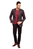 Tic Tac Toe Slim Fit Sport Jacket