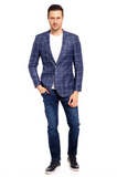 Double or Nothing Slim Fit Sport Jacket
