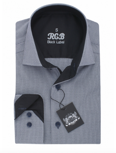 Grey RGB Sport Fit Casual Shirt