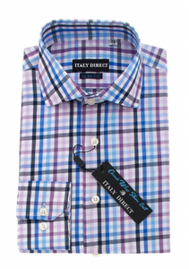 Multicolor Check Slim Fit Casual Shirt