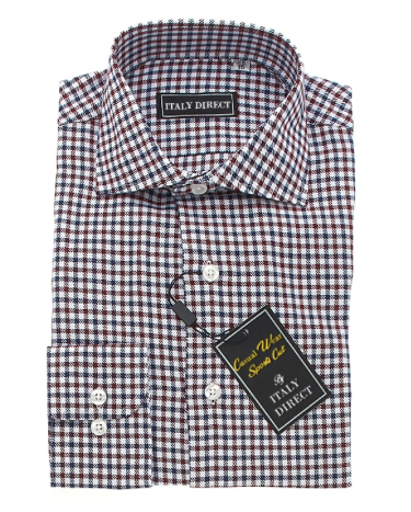 Multicolor Check Sport Fit Casual Shirt