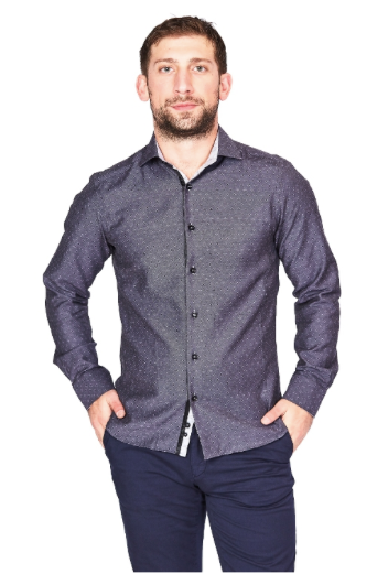 Grey Sport Fit Casual Shirt
